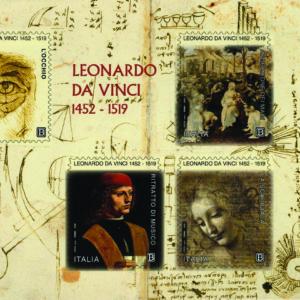 La scienza in un francobollo: LEONARDO 2019